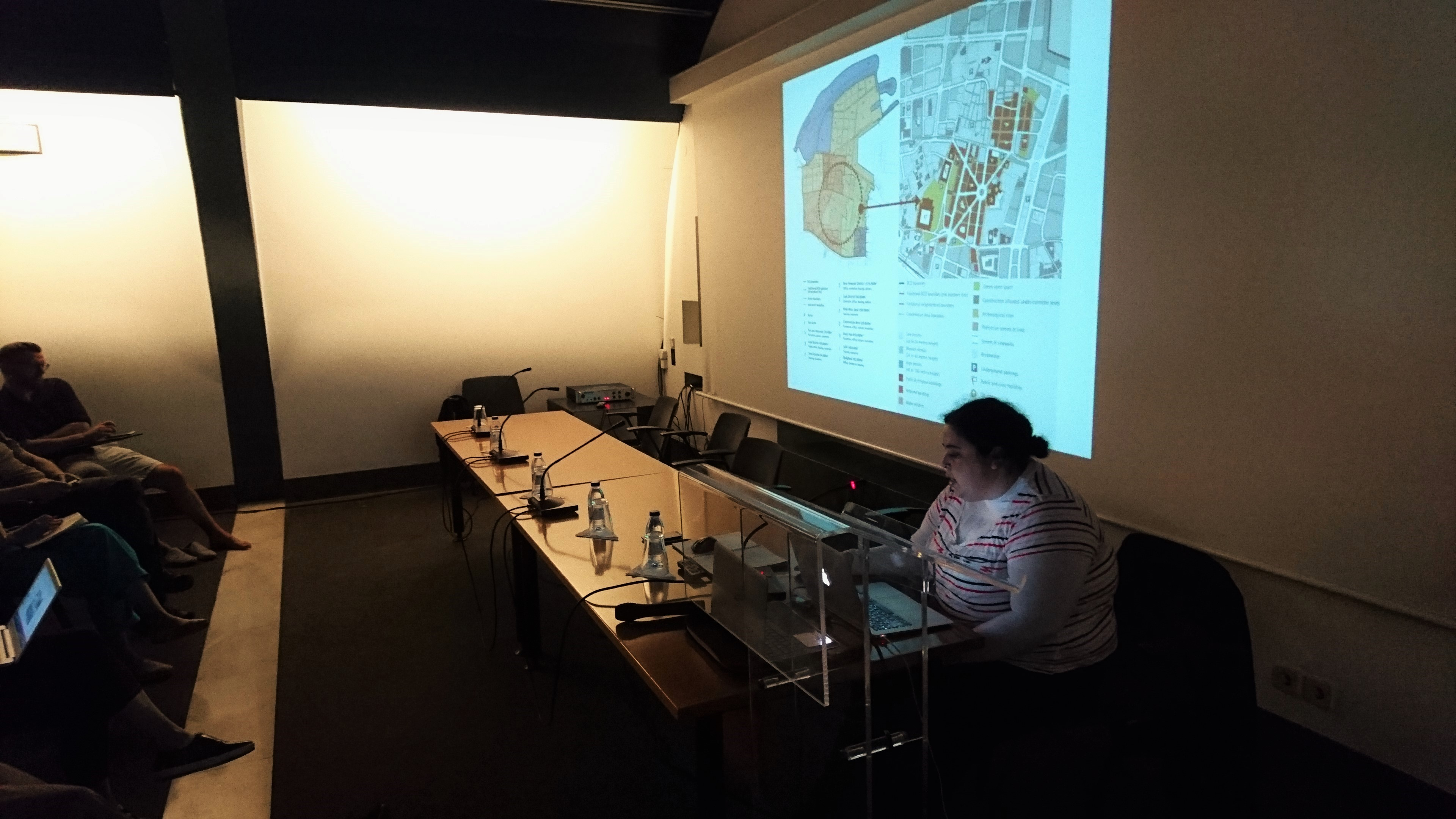 Urbanism event with ASF-Portugal at the architectural association - students present their work publicly - Abir ppt